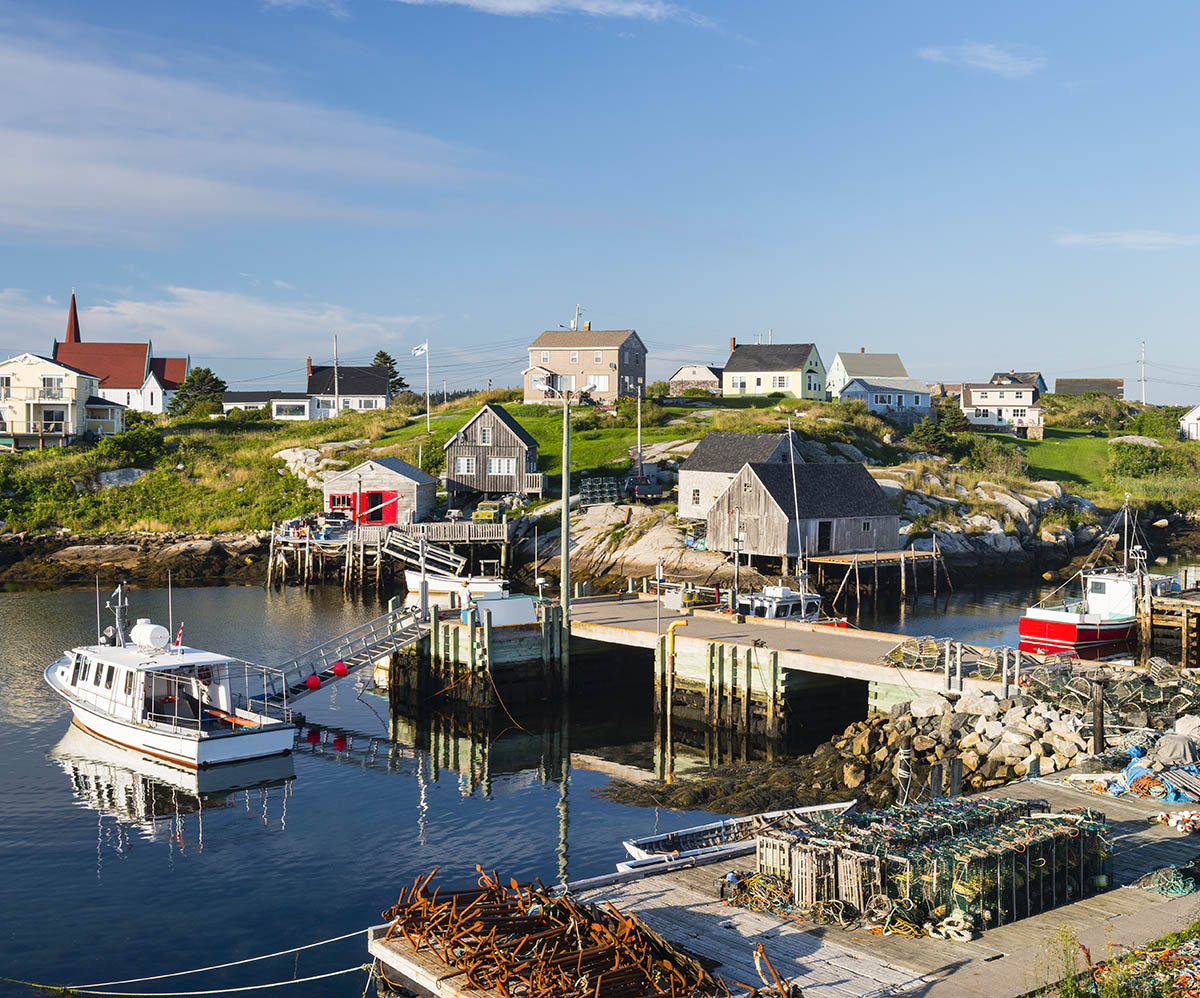 Vericatch fishing village Nova Scotia