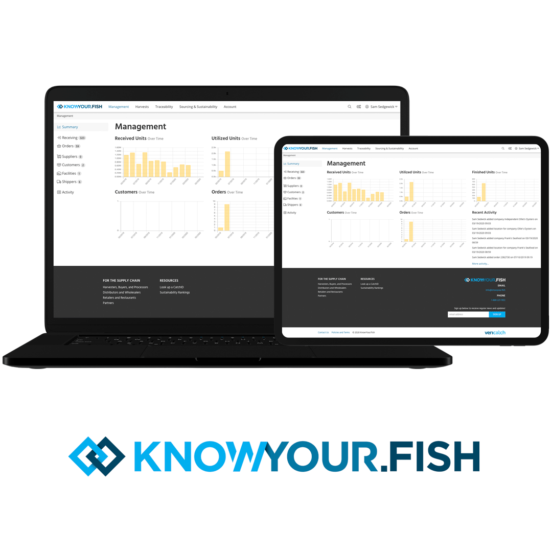KnowYour.Fish seafood traceability software